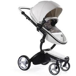 Mima - Xari Black Chassis - White Seat - Autumn Stripes Starter Pack