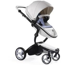 Mima - Xari Black Chassis - White Seat - Retro Blue Starter Pack