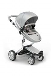 Mima - Xari Silver Chassis - Argento Seat - Autumn Stripes Starter Pack