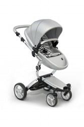 Mima - Xari Silver Chassis - Argento Seat - White & Black Starter Pack