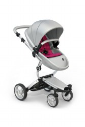 Mima - Xari Silver Chassis - Argento Seat - Hot Magenta Starter Pack
