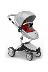 Mima - Xari Silver Chassis - Argento Seat - Red Starter Pack