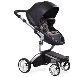 Mima - Xari Silver Chassis - Black Seat - Autumn Stripes Starter Pack