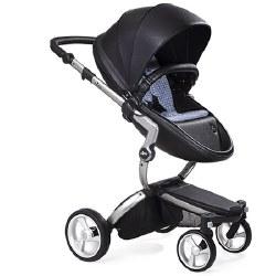Mima - Xari Silver Chassis - Black Seat - Retro Blue Starter Pack