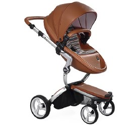 Mima - Xari Silver Chassis - Camel Seat - Autumn Stripes Starter Pack