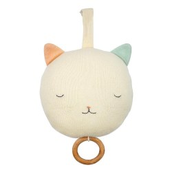 N L - Pull Musical Toy - Cat