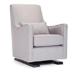Monte Design - 1 Luca Glider/Pebble Grey Body/Pebble Grey Piping/Pebble Grey Lumbar Pillow - Quick Ship