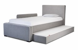 Monte Design - Dorma Bed Trundle + Mattress - Brown