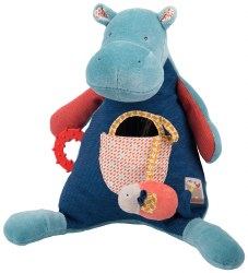 Moulin Roty - Activity Toy Hippopotamus