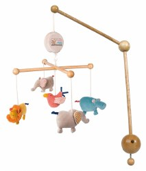 Moulin Roty - Musical Mobile - Les Papoum
