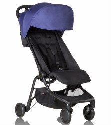 Phil & Teds - Mountain Buggy Nano V2 Stroller - Nautical