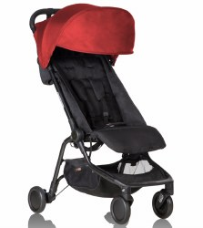 Phil & Teds - Mountain Buggy Nano V2 Stroller - Ruby