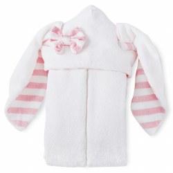 N L - Hooded Towel - Bunny