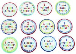 N L - Milestone Stickers - Boy