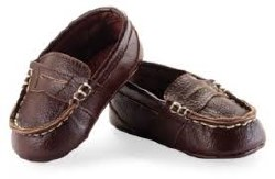 N L - Leather Loafers Brown 0-6