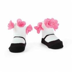 N L - Single Socks - Flower Mary Jane
