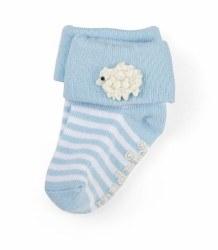 N L - Single Socks - Lamb Blue