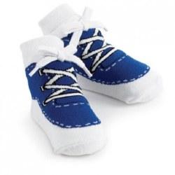 N L - Single Socks - Sneaker Blue