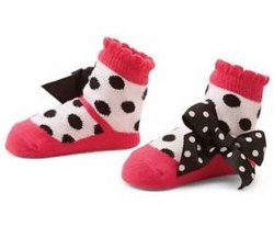 N L - Single Socks - Polka Dot Maryjan