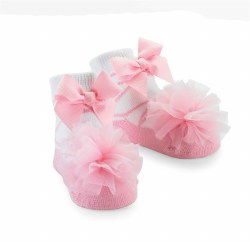 N L - Single Socks - Ballet Puff