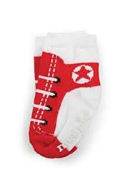 N L - Single Socks - Sneaker Red