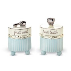 N L - Tooth and Curl Set Silver Blue