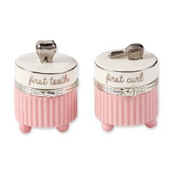 N L - Tooth and Curl Set Silver Pink