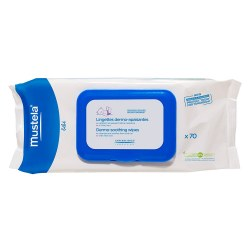 Mustela - Dermo-Soothing Wipes Delicately Fragranced