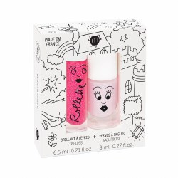 Nailmatic - Kids Lip Gloss & Nail Polish Set - Fairytales