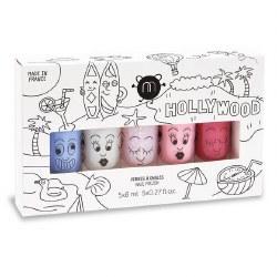 Nailmatic - Kids Nail Polish 5-Pack Set - Hollywood