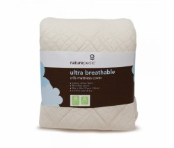 Naturepedic - Fitted Ultra Breathable Crib Mattress Cover