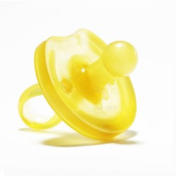 Natursutten - Natural Rubber Butterfly Rounded Pacifier 6-12