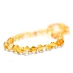 Nilo Baby - Amber Necklace - Lemon