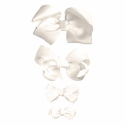 Nilo Baby - Bow Large - Antique White