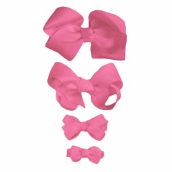 Nilo Baby - Bow Large - Bright Pink