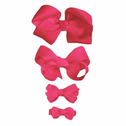 Nilo Baby - Bow Large - Hot Pink