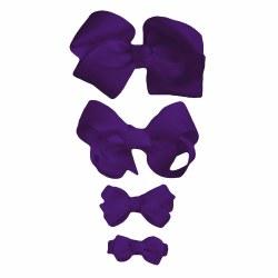 Nilo Baby - Bow Large - Purple
