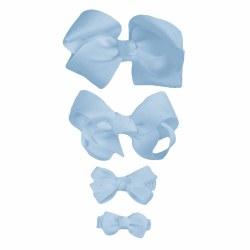 Nilo Baby - Bow Large - Light Blue