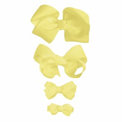Nilo Baby - Bow Large - Light Yellow