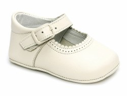 Nilo Baby - Baby Mary Janes Straps Shoes Beige 15