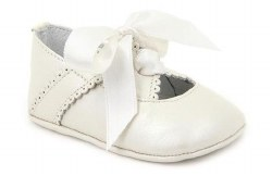 Nilo Baby - Baby Ribbon Shoes Beige 16