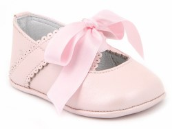 Nilo Baby - Baby Ribbon Shoes Pink 16