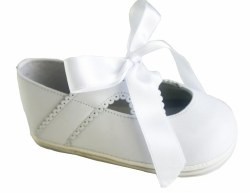 Nilo Baby - Baby Ribbon Shoes White 16