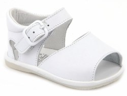 Nilo Baby - Baby Sandals with Buckles White 18