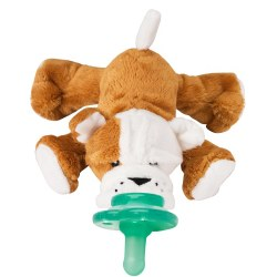 Nookums - Paci-Plushies Pacifier Holder - Barkley Bulldog