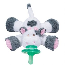 Nookums - Paci-Plushies Pacifier Holder - Cutsie Cow