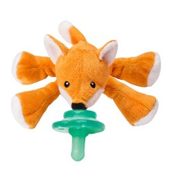 Nookums - Paci-Plushies Pacifier Holder - Freckles Fox