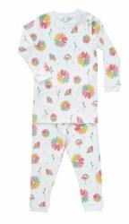 Noomie - 2 Piece Pajamas Daisies 12-18