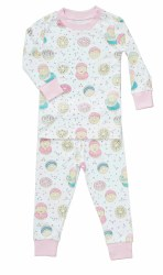 Noomie - 2 Piece Pajamas Donuts 12-18