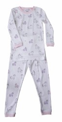Noomie - 2 Piece Pajamas Unicorn 12-18